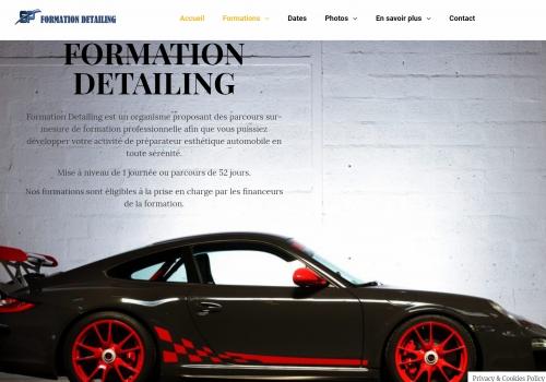 capture d'ecran du site formationdetailing.com